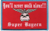 Bayern Aufnäher You´ll never walk alone